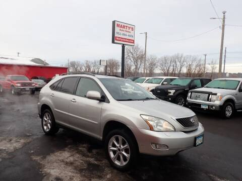 2008 Lexus RX 350 for sale at Marty's Auto Sales in Savage MN