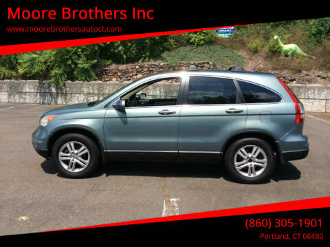 2010 Honda CR-V for sale at Moore Brothers Inc in Portland CT