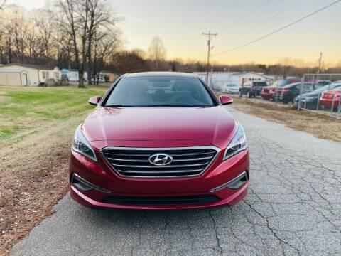 2015 Hyundai Sonata for sale at Speed Auto Mall in Greensboro NC
