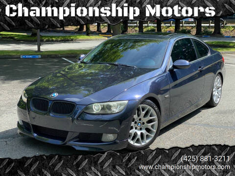 2008 BMW 3 Series for sale at Championship Motors in Redmond WA