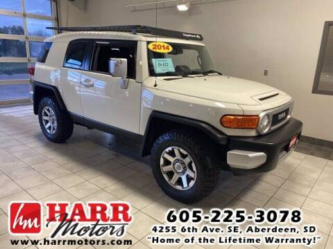 2014 Toyota FJ Cruiser for sale at Harr's Redfield Ford in Redfield SD