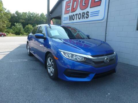 2017 Honda Civic for sale at Edge Motors in Mooresville NC