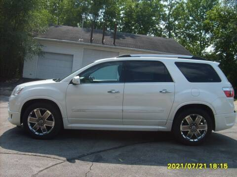 2012 GMC Acadia for sale at Northport Motors LLC in New London WI