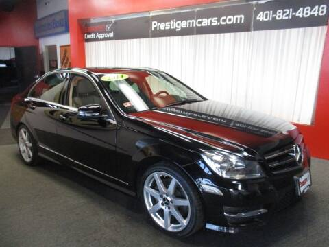 2014 Mercedes-Benz C-Class for sale at Prestige Motorcars in Warwick RI