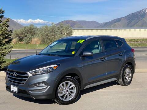 2018 Hyundai Tucson for sale at Evolution Auto Sales LLC in Springville UT