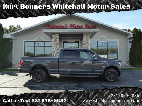 2017 Ford F-150 for sale at Kurt Bonners Whitehall Motor Sales in Whitehall MI