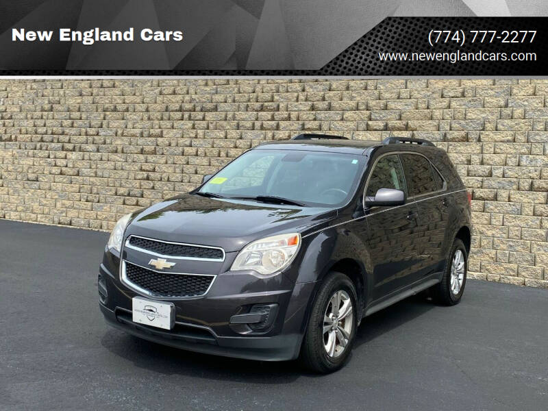 2013 Chevrolet Equinox for sale at New England Cars in Attleboro MA