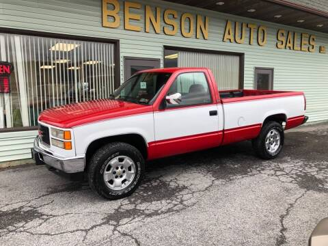 1994 GMC Sierra 1500 for sale at Superior Auto Sales in Duncansville PA