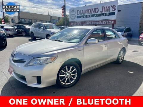 2010 Toyota Camry Hybrid for sale at Diamond Jim's West Allis in West Allis WI