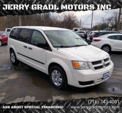 2010 Dodge Grand Caravan for sale at JERRY GRADL MOTORS INC in North Tonawanda NY