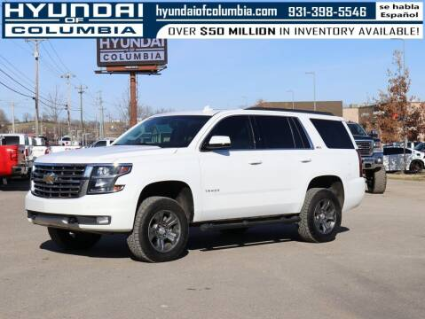 2017 Chevrolet Tahoe for sale at Hyundai of Columbia Con Alvaro in Columbia TN