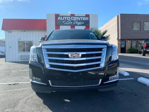 2016 Cadillac Escalade for sale at Auto Center Of Las Vegas in Las Vegas NV