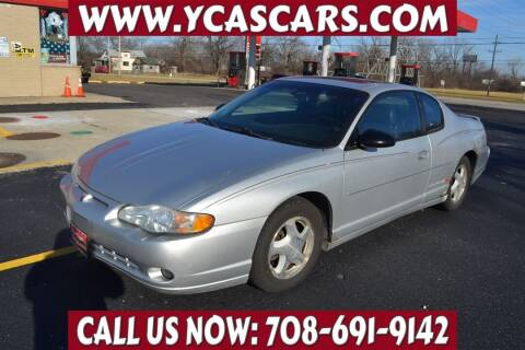 2003 Chevrolet Monte Carlo for sale at Your Choice Autos - Crestwood in Crestwood IL