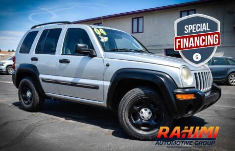 2004 Jeep Liberty for sale at Rahimi Automotive Group in Yuma AZ