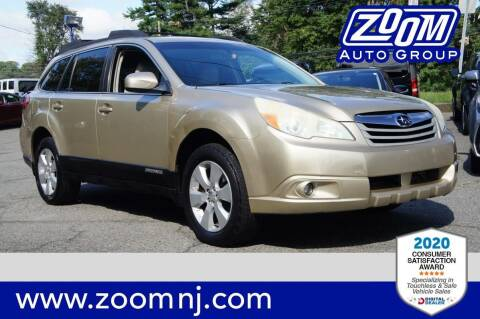 2010 Subaru Outback for sale at Zoom Auto Group in Parsippany NJ