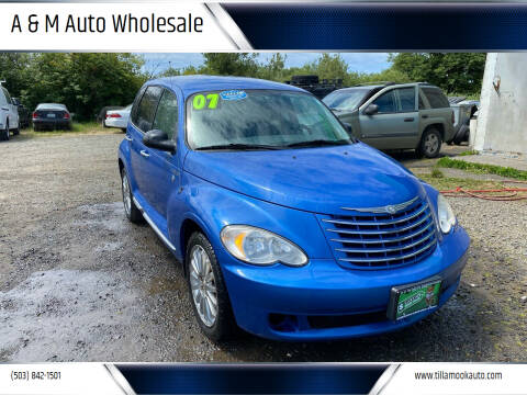 2007 Chrysler PT Cruiser for sale at A & M Auto Wholesale in Tillamook OR