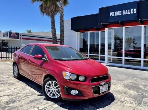 2015 Chevrolet Sonic for sale at Prime Sales in Huntington Beach CA