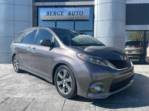 2017 Toyota Sienna for sale at Berge Auto in Orem UT