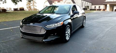 2014 Ford Fusion for sale at Alfa Auto Sales in Raleigh NC