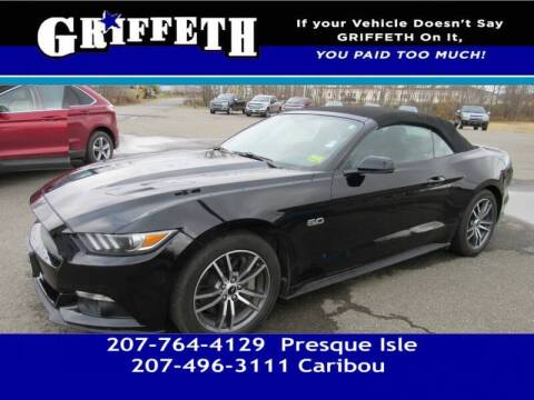 2016 Ford Mustang for sale at Griffeth Mitsubishi - Pre-owned in Caribou ME