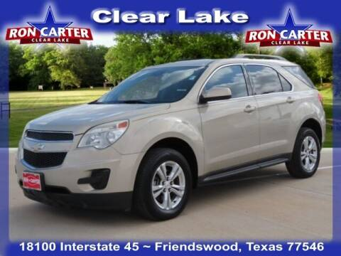 2012 Chevrolet Equinox for sale at Ron Carter  Clear Lake Used Cars in Houston TX
