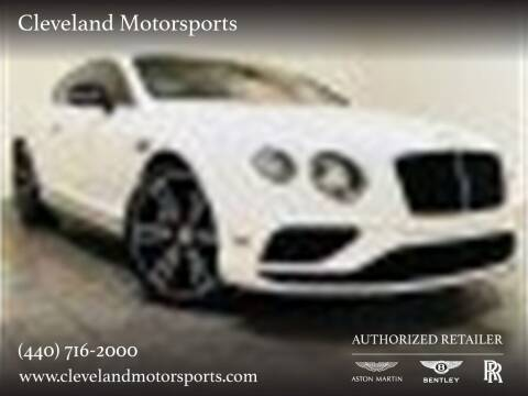 2017 Bentley Continental for sale at Drive Options in North Olmsted OH