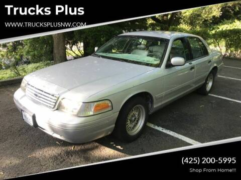 2000 Ford Crown Victoria for sale at Trucks Plus in Seattle WA