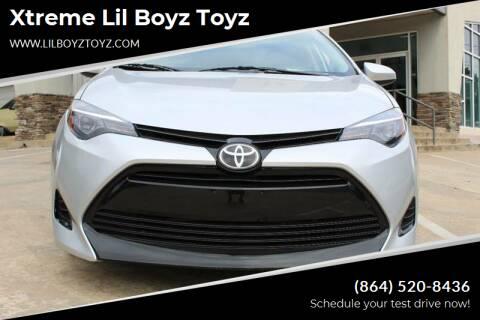 2017 Toyota Corolla for sale at Xtreme Lil Boyz Toyz in Greenville SC