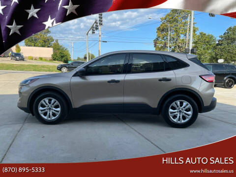 2020 Ford Escape for sale at Hills Auto Sales in Salem AR