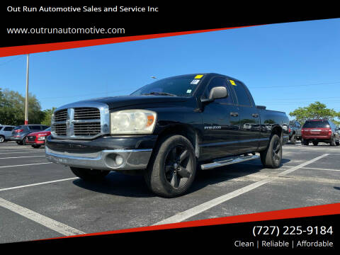 2007 Dodge Ram Pickup 1500 for sale at Out Run Automotive Sales and Service Inc in Tampa FL