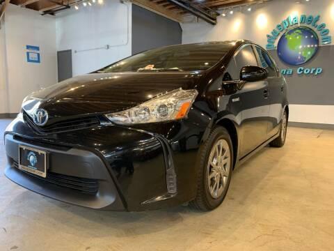 2017 Toyota Prius v for sale at PRIUS PLANET in Laguna Hills CA