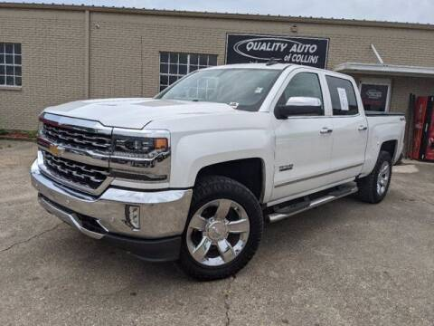 2017 Chevrolet Silverado 1500 for sale at Quality Auto of Collins in Collins MS