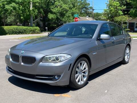 2012 BMW 5 Series for sale at LUXURY AUTO MALL in Tampa FL