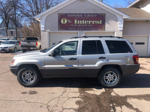 2003 Jeep Grand Cherokee for sale at Imperial Group in Sioux Falls SD