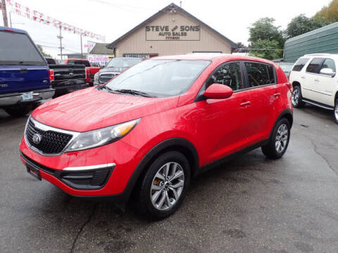 2014 Kia Sportage for sale at Steve & Sons Auto Sales in Happy Valley OR