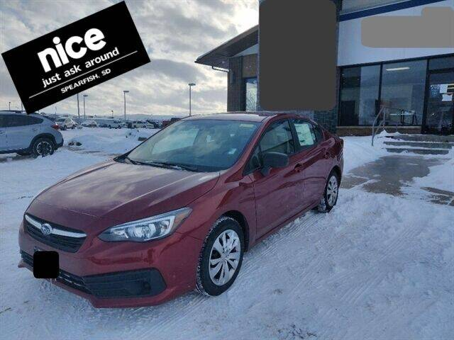 2020 Subaru Impreza for sale at PRESTIGE AUTO SALES in Spearfish SD