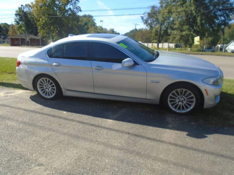 2011 BMW 5 Series for sale at Alabama Auto Sales in Semmes AL