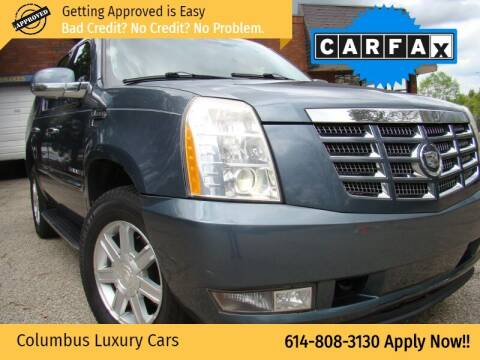2008 Cadillac Escalade for sale at Columbus Luxury Cars in Columbus OH
