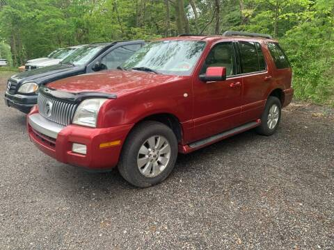 2006 Mercury Mountaineer for sale at LONGWOOD MOTORS in Stockholm NJ