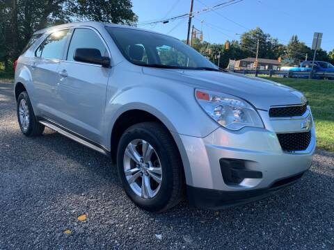 2013 Chevrolet Equinox for sale at George Strus Motors Inc. in Newfoundland NJ