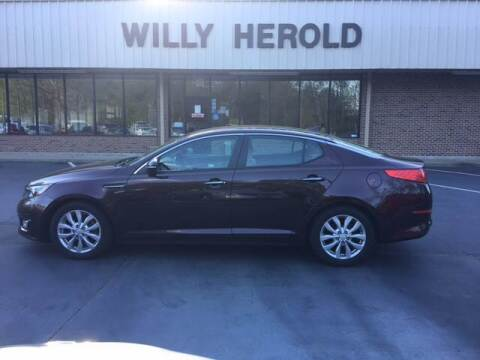2015 Kia Optima for sale at Willy Herold Automotive in Columbus GA