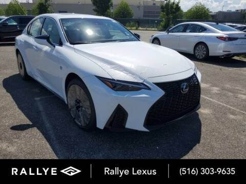 2021 Lexus IS 350 for sale at RALLYE LEXUS in Glen Cove NY