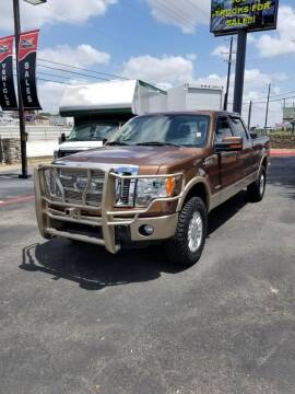 2012 Ford F-150 for sale at ON THE MOVE INC in Boerne TX