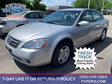 2003 Nissan Altima for sale at Fort Dodge Ford Lincoln Toyota in Fort Dodge IA