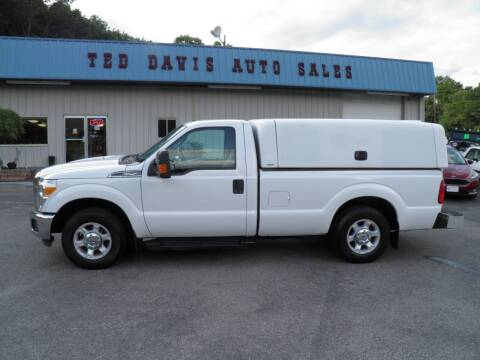 2016 Ford F-250 Super Duty for sale at Ted Davis Auto Sales in Riverton WV