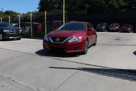 2016 Nissan Altima for sale at F & M AUTO SALES in Detroit MI