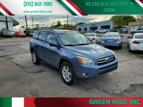 2007 Toyota RAV4 for sale at Green Ride Inc in Nashville TN
