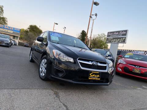 2012 Subaru Impreza for sale at Save Auto Sales in Sacramento CA