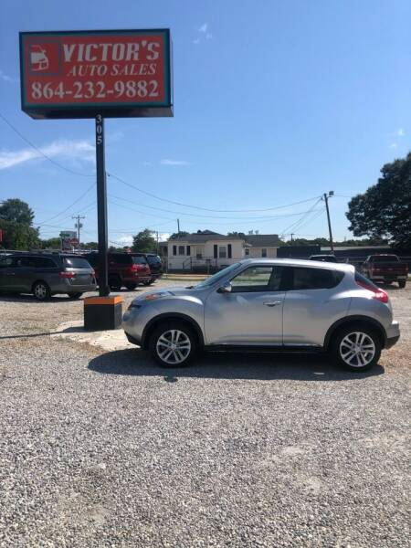 2011 Nissan JUKE for sale at Victor's Auto Sales in Greenville SC