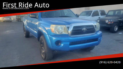 2007 Toyota Tacoma for sale at First Ride Auto in Sacramento CA